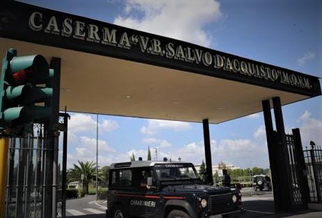 caserma carabinieri salvo d'acquisto via di tor di Quinto Roma